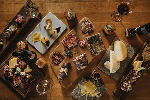 Vinarstvo Frešer - pogostitev - vino in hrana