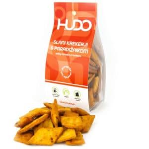Slani krekerji s paradižnikom, Hudo
